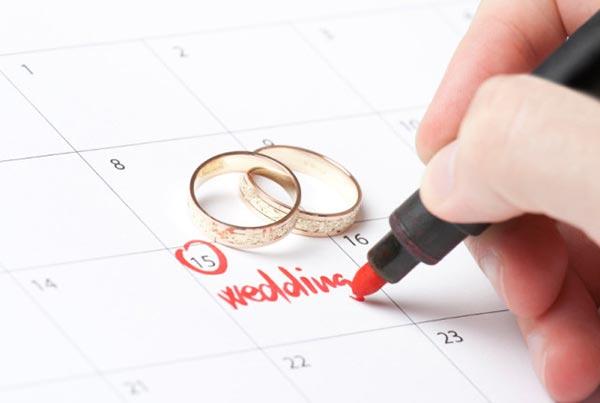 Pick the Best Wedding Date in 2017