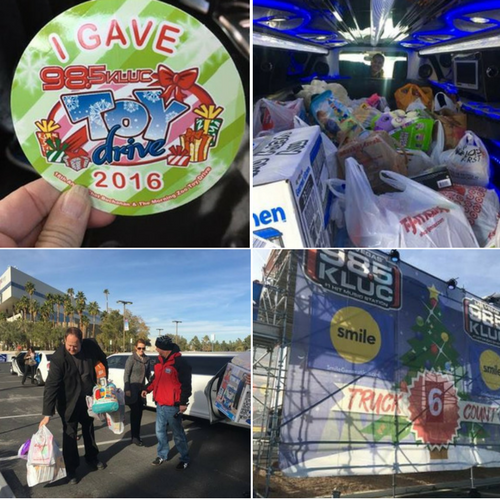 98.5 KLUC Toy Drive