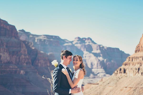 Grand Canyon Wedding Package at Chapel of the Flowers