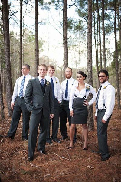 Mix-Gender Wedding Party :: Same-Sex Weddings :: 2017 Wedding Trends