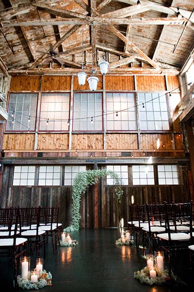 Rustic Boho- Chic Wedding Venues :: 2017 Wedding Trends