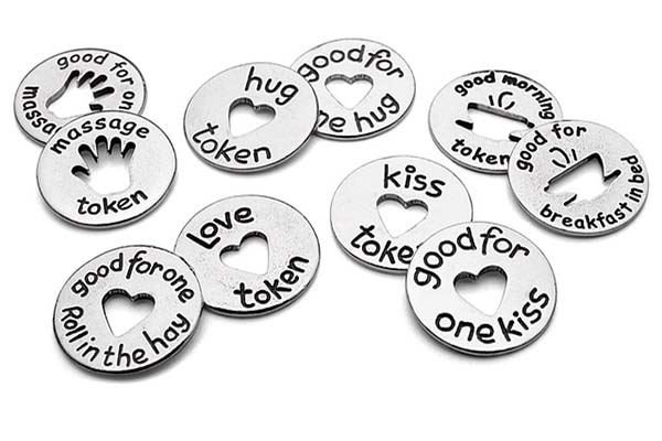 Valentine's Day Gift for Him | Love Tokens