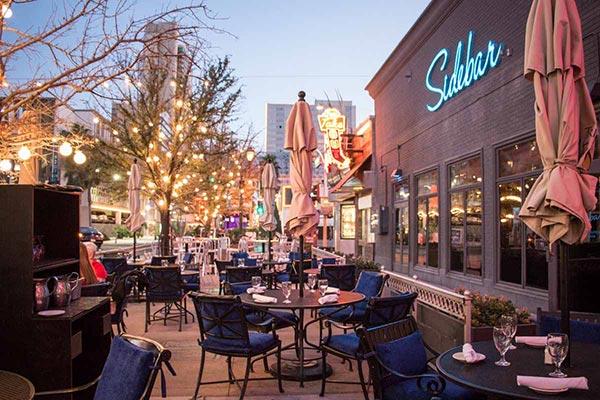 Las Vegas Wedding Reception Venue | Trendy Downtown Grill | Patio