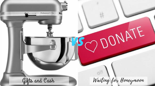 Wedding Gift Registry vs Charity Registry | New Wedding Traditions to Replace Old Wedding Traditions