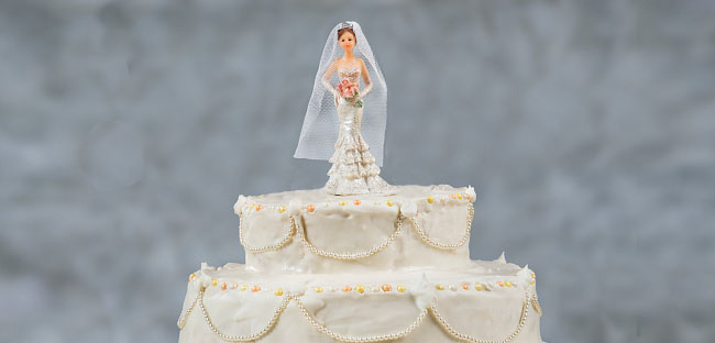 Bride Only Cake Topper | Sologamy Weddings