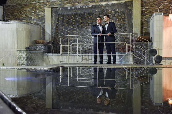 Gay weddings at Chapel of the Flowers | Same-Sex Wedding in Las Vegas | LGBTQ Wedding Ideas