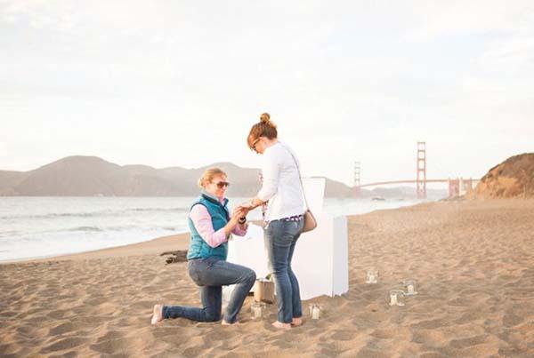 Lesbian Wedding Engagement | Same-Sex Wedding in Las Vegas | LGBTQ Wedding Ideas