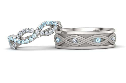 Mix And Match An Wedding Rings Bands Same In