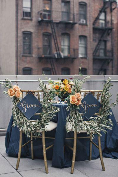 Stylish Gay-friendly Wedding Decor | Same-Sex Wedding in Las Vegas | LGBTQ Wedding Ideas