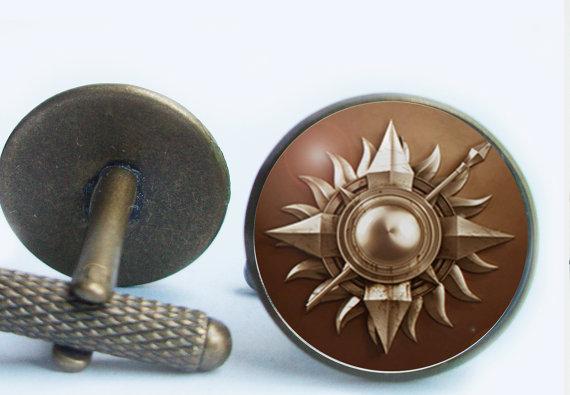 Game of Thrones Cufflinks | Citadel Cufflinks | Game of Thrones Wedding Ideas
