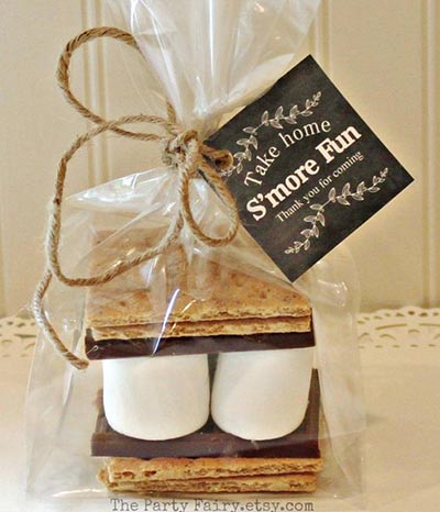 Fall Weddings | Wedding Ideas | Smores Wedding Favors