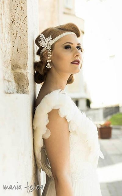 Great Gatsby Wedding Ideas | Gatsby Headpiece for Bride