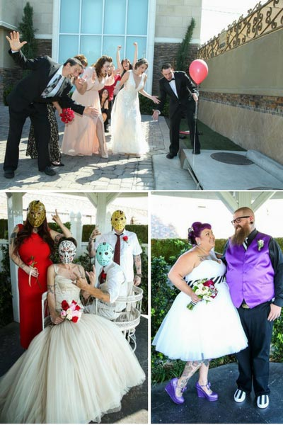 Friday the 13th Wedding Photo Ideas