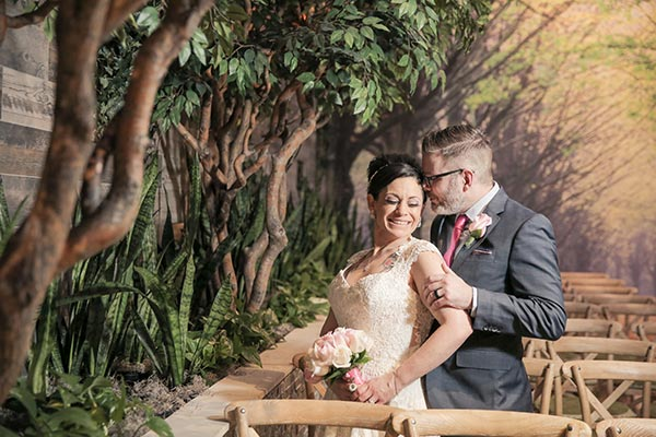 Rustic Romantic Wedding Garden | 2018 Wedding Trends