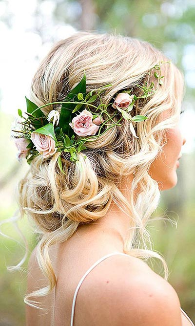 Wedding Hairtsyle Ideas | 2018 Wedding Trends