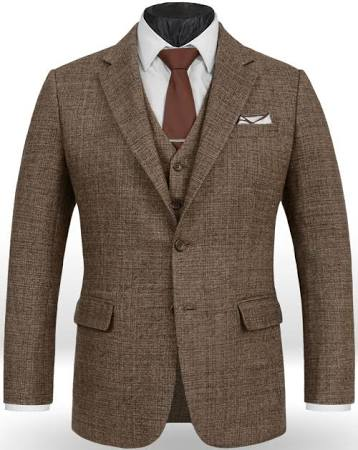 Tweed Suit for Groom | 2018 Wedding Trends