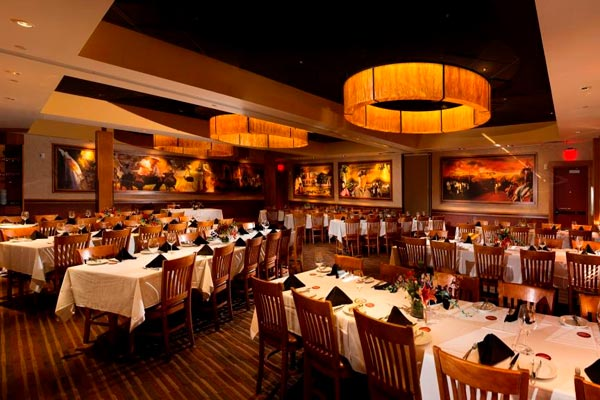 Unique Las Vegas Wedding Reception Venue | Brazilian Steakhouse Large Private Room | Destination Weddings