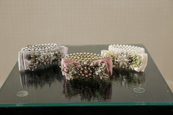 Wedding Flower Ideas   Vintage Corsage with Brooch