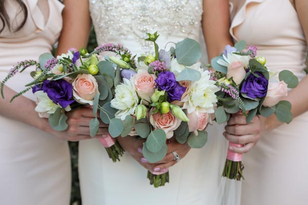 Wedding Flower Ideas | Bridemaids Bouquets for Spring Weddings
