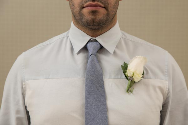 Wedding Flower Ideas | Boutonniere Ideas | Winter Rose Boutonniere