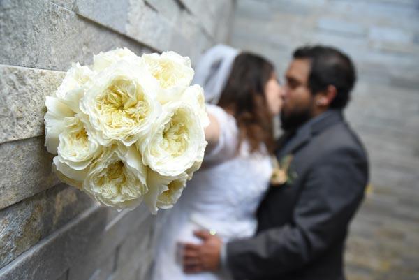 Wedding Flower Ideas   Bridal Bouquet Ideas   Garden Rose Bouquet